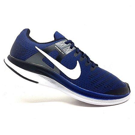 Tênis Nike Dynamic Fit Marinho e Branco