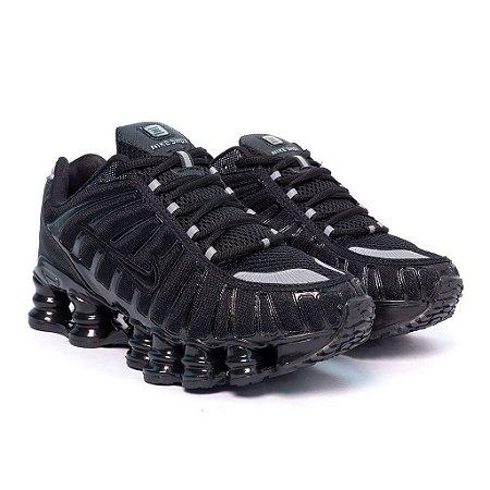 Tênis Nike Shox TLX 12 Molas Refletivo Premium Preto