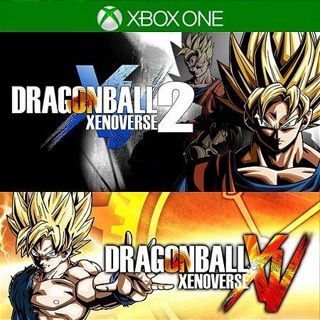 Comprar Combo Dragon Ball Xenoverse 1 e 2 Mídia Digital Xbox One Online