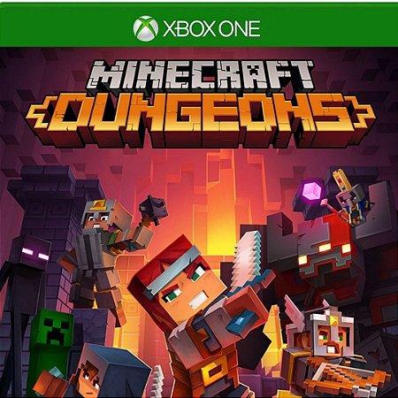 Comprar Minecraft Dungeons Hero Edition Mídia Digital Xbox One Online