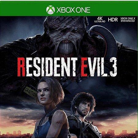 Comprar Resident Evil 3 Remake Mídia Digital Xbox One Online