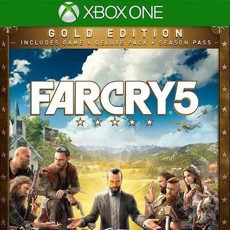 Far Cry 5 Gold Edition Mídia Digital Online Xbox One