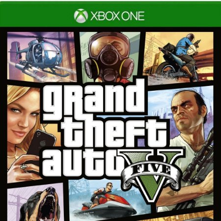 GTA 5 Xbox One Mídia Digital Online