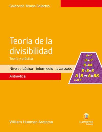TEORIA DA DIVISIBILIDADE - TEORIA E PRÁTICA