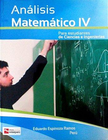 ANÁLISE MATEMÁTICO IV