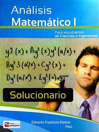 SOLUCIONÁRIO ANÁLISE MATEMÁTICO I