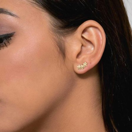 Brinco Ear Cuff Estrela