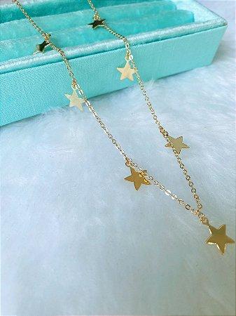 Choker Estrelas