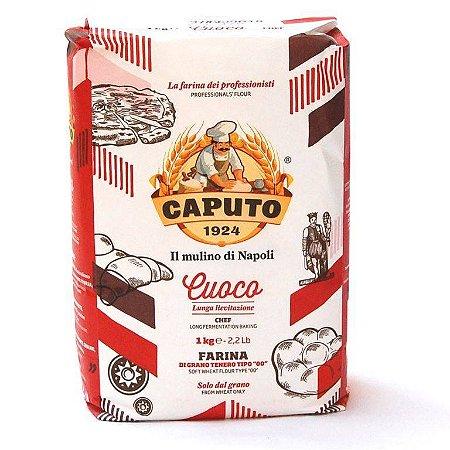 Farinha Italiana 00 Caputo Cuoco Pizzas e Pães Longa Fermentação 1kg