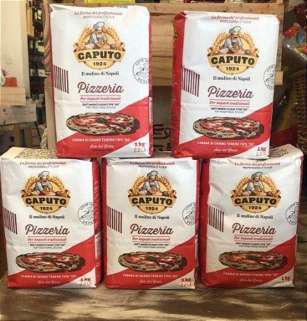 Farinha Italiana 00 Caputo Pizzeria - Pack 5 kg