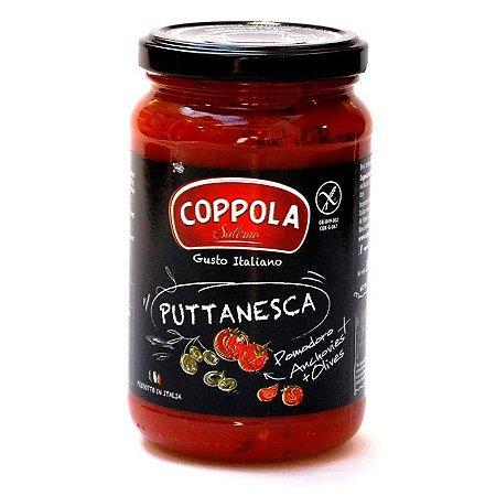 Molho de Tomate Puttanesca Coppola 350gr