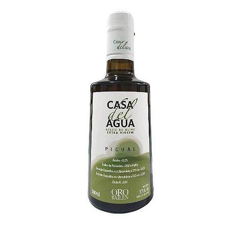 Azeite Extra Virgem Espanhol Casa del Agua 500ml