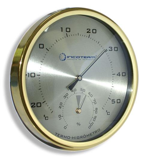 Termo-Higrômetro Analógico Temperatura e Umidade