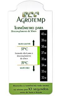 Termômetro para Descongelamento de Sêmen