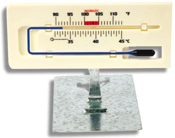 Termômetro para Incubação (Chocadeira) 90 a 110:1°F 32 a 45:0,5°C