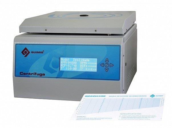 Centrífuga Microprocessada para Microhematócrito
