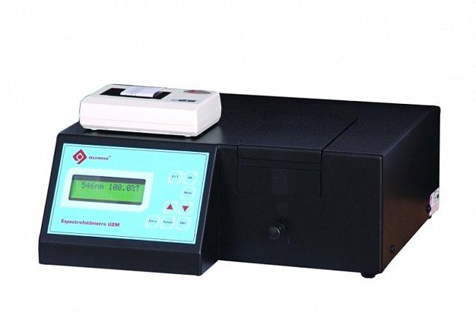 Espectrofotômetro Ultravioleta Digital Microprocessado