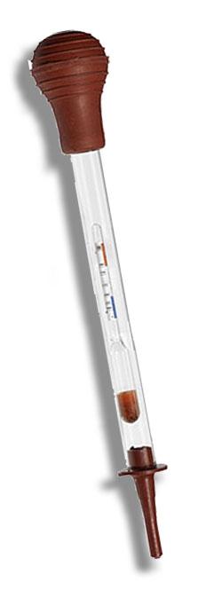 5801 – Densímetro Para Bateria – 1,150/1,230 – Bateria Alcalina e Ácida