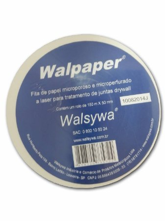Fita de Papel 150m - Walsywa