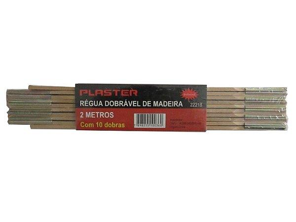 Metro de Madeira 2m - Plaster