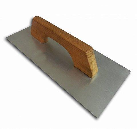 Desempenadeira de Aço Encruada 29x12cm
