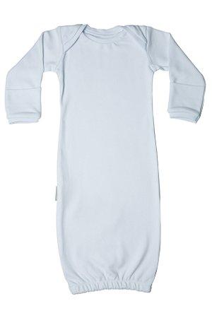 Primeiro Pijama - Manga Longa LIso Branco
