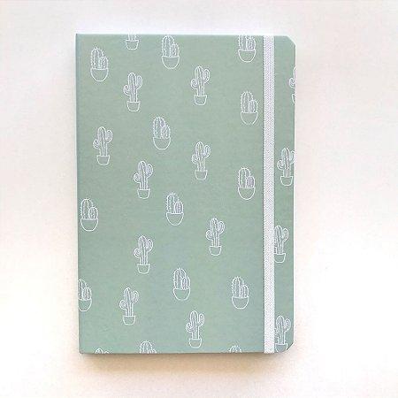 Caderno A5 Pontilhado Cactos