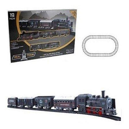 Trem Super Trilho Real Train - Zoop Toys
