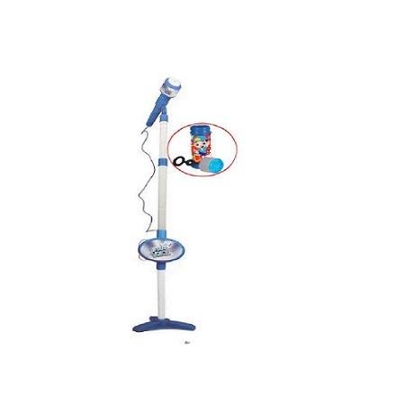 Azul Rock Star Microfone Infantil - Zoop Toys