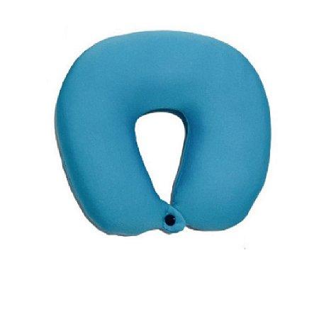 Almofada Pescoço Viagem 30x50cm Azul - Wincy
