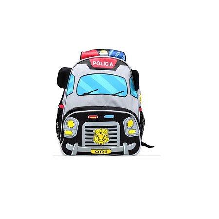 Mochila Costa Infantil Policia - Clio Style