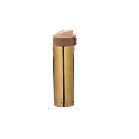 Garrafa Inox 500ML Dourada- Wincy