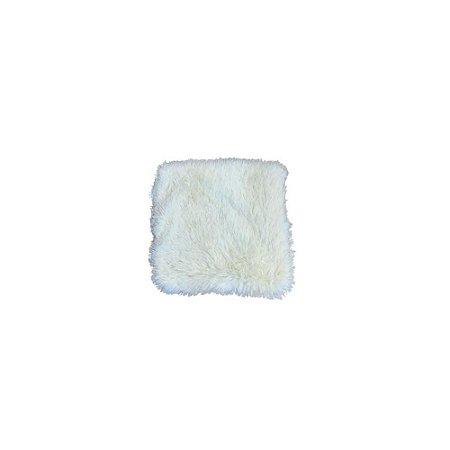 Capa de Almofada Peluda Bege - FWB