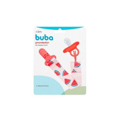 Prendedor De Chupeta Frutti Melancia - Buba