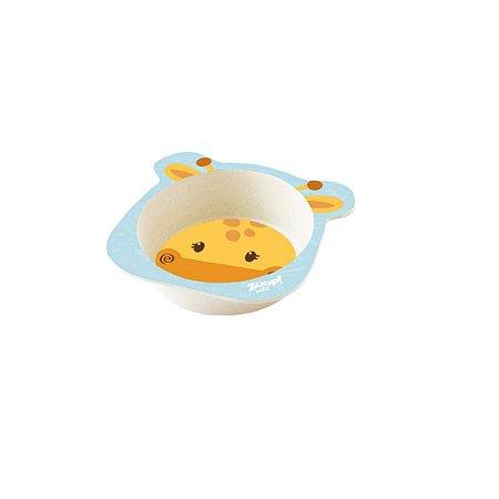 Conjunto Alimentação Bowl Baby 3 Peças Girafa - Zoop Toys