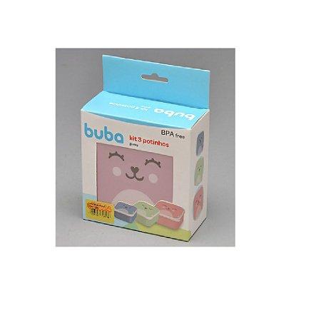Kit 3 Potinhos Gumy Colorido - Buba