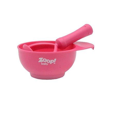 Kit Bowl Amassador de Papinha Rosa - Zoop Baby