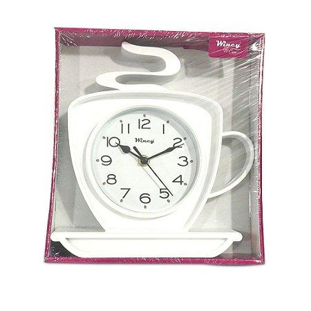 Relógio de Parede Xícara Wincy Branco PDA01011