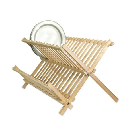 Escorredor de Louça Dobrável Bambu Wincy CLA06055