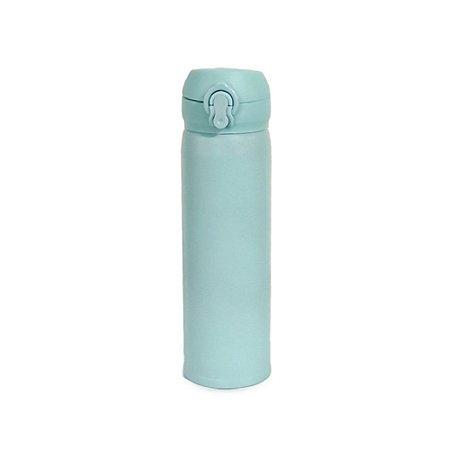 Garrafa Térmica Tampa Inox Azul Claro 450 ml Wincy IXB16004