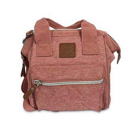 Bolsa Mommy Bag Pequena Rosa MM3264