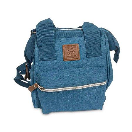 Bolsa Mommy Bag Pequena Azul Claro MM3264