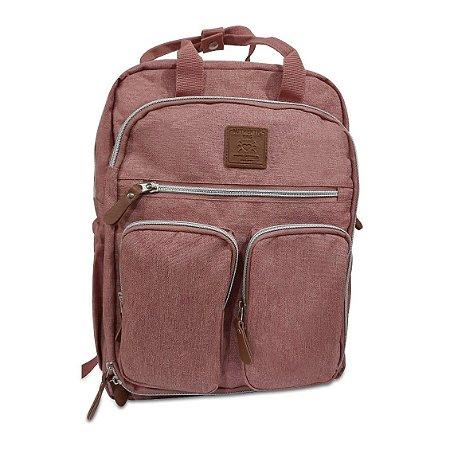 Mochila Mommy Bag Rosa MM3302