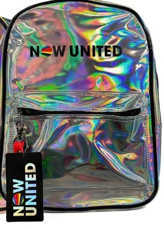 Bolsa de Costas Now United Original Prata NU3275PR