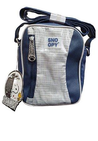 Bolsa Transversal Snoopy Azul SP12001AZ