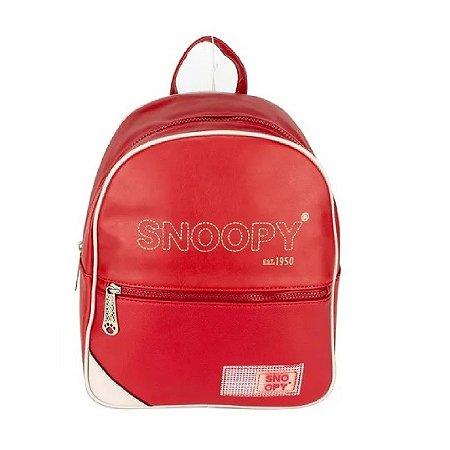 Mochila Snoopy Vermelha SP12003VM