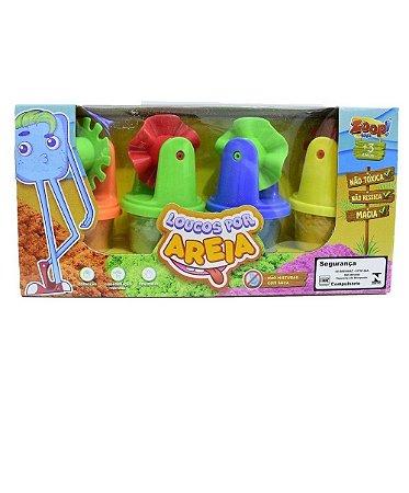 Loucos por areia - Invente e Inove - Zoop Toys