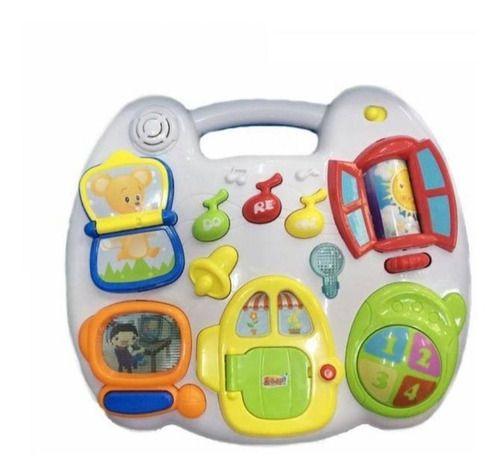 Mesinha De Atividades Casinha Zp00671-zoop Toys