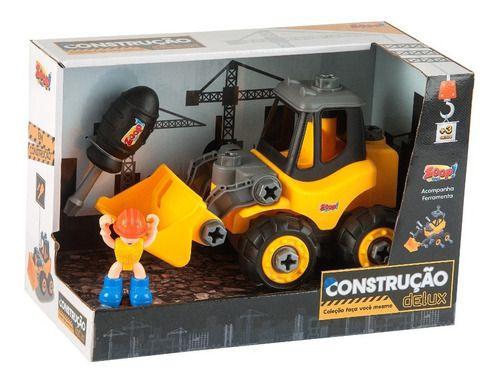 Kit Construção Delux  Monta E Desmonta  Zoop Toys
