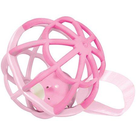Baby Ball luz e som - Rosa - buba